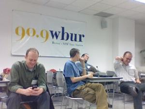 Social Media Gathering at WBUR