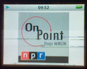 On Point Radio on my iPod