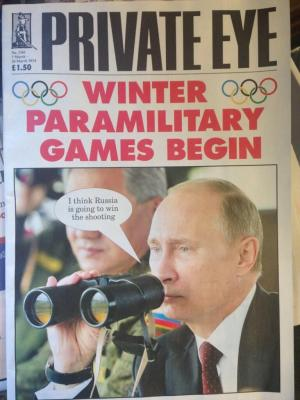 PrivateEye Putin