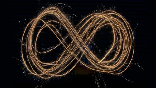 Infinity's lemniscate.