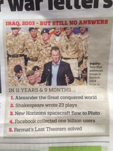 Blair Iraq War