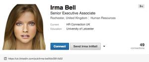 Irma Bell Linkedin