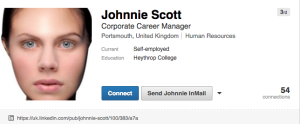 Johnnie Scott Linkedin