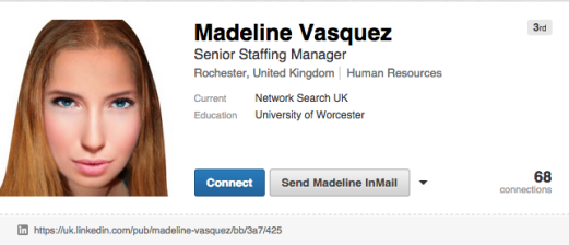 Madeline Vasquez Linkedin